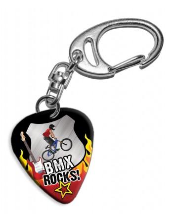 Plectrum sleutelhanger BMX...