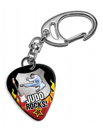 Plectrum sleutelhanger Judo...