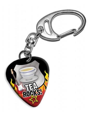 Plectrum sleutelhanger Tea...