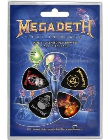 Megadeth Plectrum Rust in...
