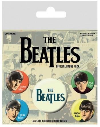 The Beatles Button Faces...