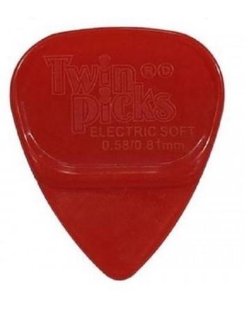 Twin Picks electric soft rood